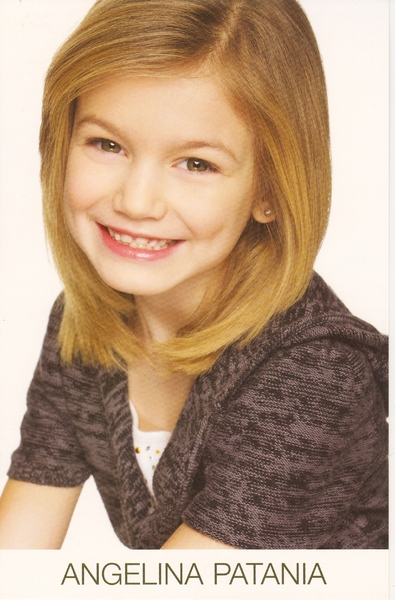 ANGELINA P. -- D.O.B. 2003 -- Hair: Blond -- Eyes: Brown